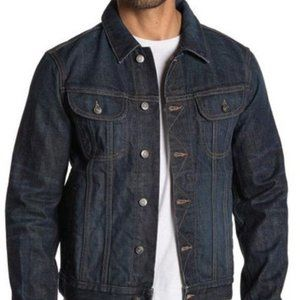 NWT VINCE. MENS DENIM TRUCKER JACKET